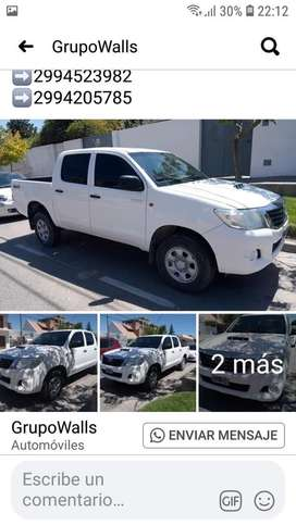 Toyota hilux 2.5 4x4  full service oficiales