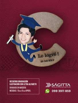 recuerdo graduación