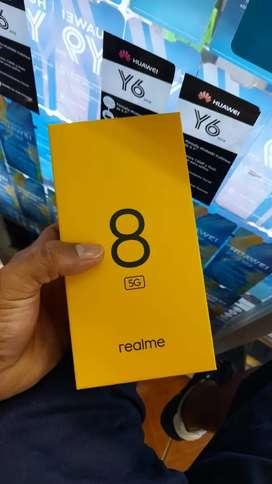 REALME 8 DE 128 GB 8 RAM EN 5 G NUEVOS DE PAQUETE GARANTÍA LOCAL