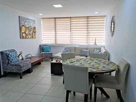 Departamento de alquiler en Puerto Santa Ana, 2 dormitorios, 1 parqueo.