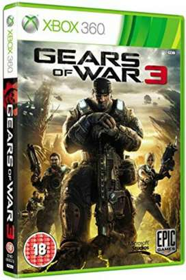 Gear Of War 3 Xbox 360 Nuevo Y Sellado