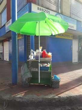 Se vende carro de jugos de naranjas