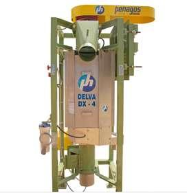 Lavador vertical para 1500 kilos de café cereza hora. Canasta en inoxidable.