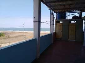 Linda casa familiar de playa