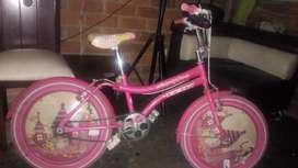 Se Vende Bicicleta para Niña Llantas Nue