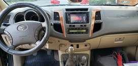 Vendo Toyota Fortuner año 2008 modelo 2009