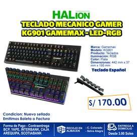 TECLADO MECANICO GAMER