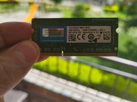MEMORIA RAM MAC O PORTATIL 8gb 2x4 gb DDR3 1866mhz