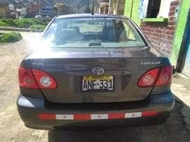 Toyota corolla xli motor 1600 solo gasolinero
