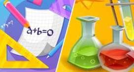 Clases y talleres, ciencias (química, física), matemáticas y afines
