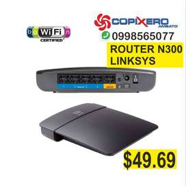 ROUTER LINKSYS N300 300 MBPS