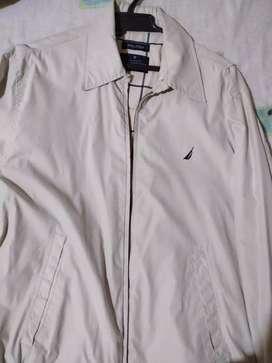 Vendo chaqueta náutica beige original talla s