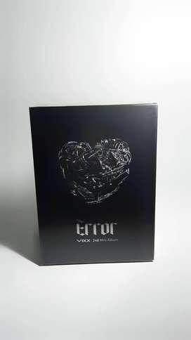 ERROR - VIXX 2nd Mini Album CD (Incluye póster)