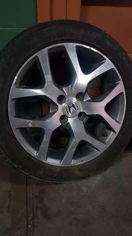 Llanta Original Aleacion Honda City R16 + Cubierta/neumático