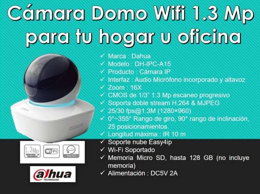 Camara Domo Wifi 1.3 Mega pixeles para tu hogar u oficina 0
