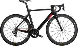 Marco Wilier en fibra de Carbono, opción bicicleta completa