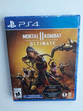 Mortal Kombat 11 Ultimate juego PS4 Nuevo y Sellado