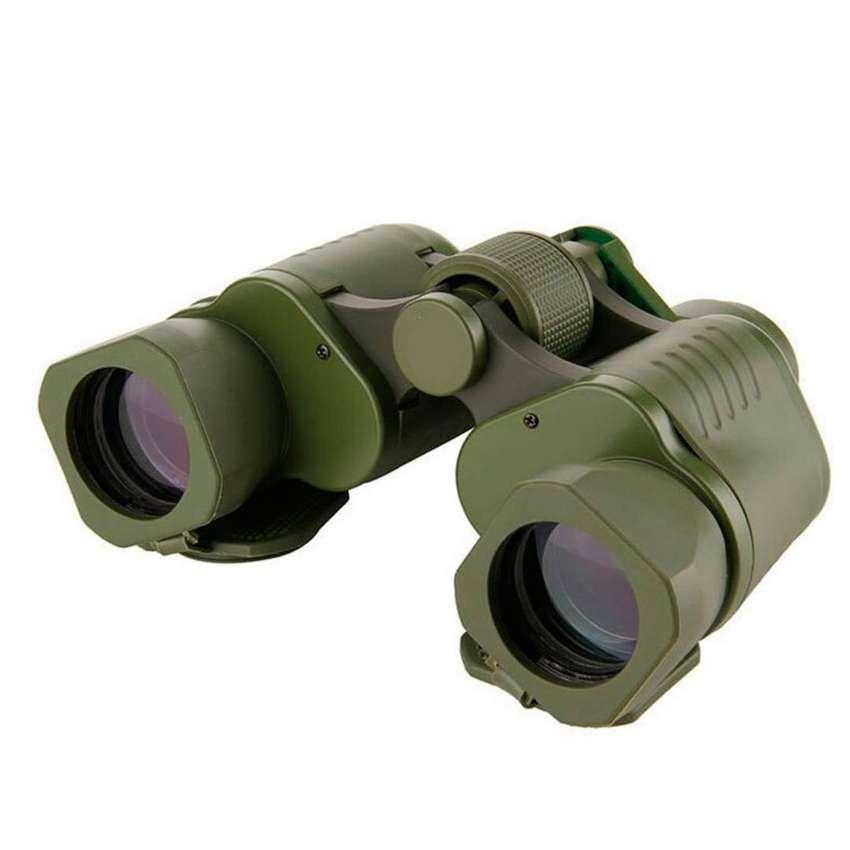 Binoculares Profesionales 50x50 Estilo Militar Con Estuche 0