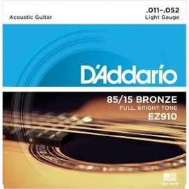 Cuerdas de guitarra Acústica Nueva(Delivery)