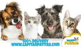 Alimento para Perritos y Gatitos - Capitán Patitas
