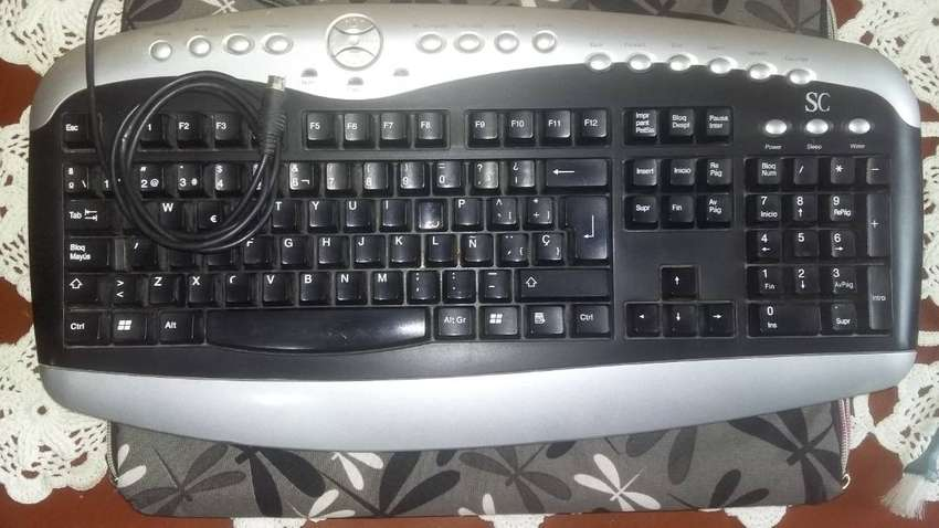 Teclado Cable PS2 0