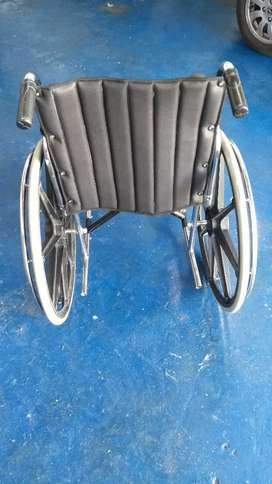 Se tapizan sillas de ruedas