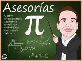 Asesorías en matematicas