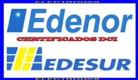 Pedido de medidor, Dci, Medidor Edesur, Edenor C.a.b.a.