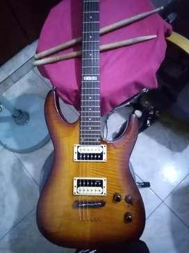 Guitarra LTD H101FM de ESP guitars