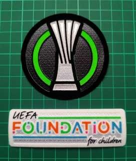 Set 2 Parches Uefa Conference League 2021-2022 Tottenham Hotspur $20000