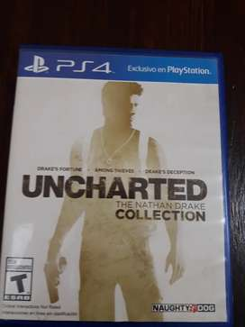 Uncharted Ps4 : 3 En 1 ,the Nathan Drake Collection
