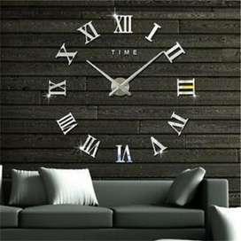 Reloj Adhesivo en 3d