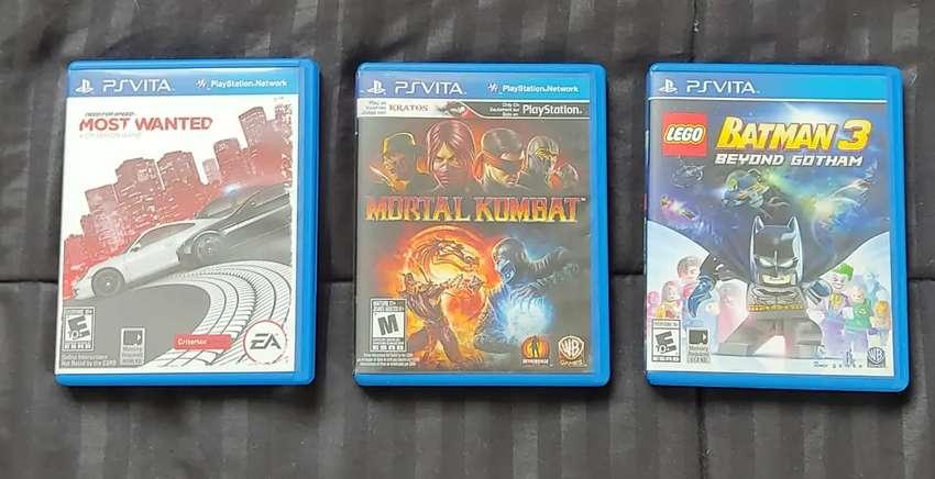 Tres juegos originales para PS Vita 0