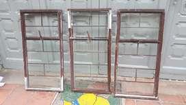 Vendo ventanas usadas 1m ancho X 0.5m alto