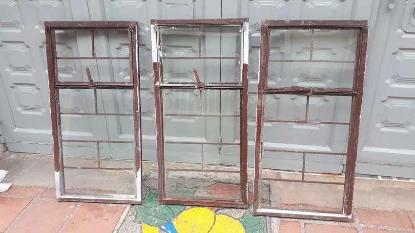 Vendo ventanas usadas 1m ancho X 0.5m alto 0