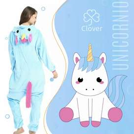 Pijama unicornio Azul Kigurumi