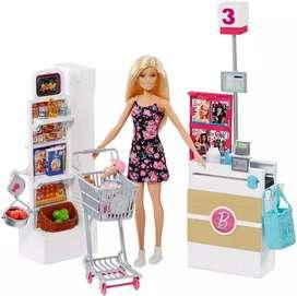 Barbie vamos de compras, set de supermercado