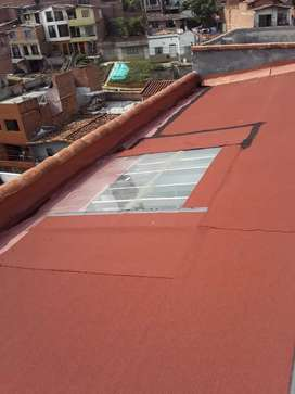 Goteras garantiso solucion en techos terrazas  bajantes canas  tejas