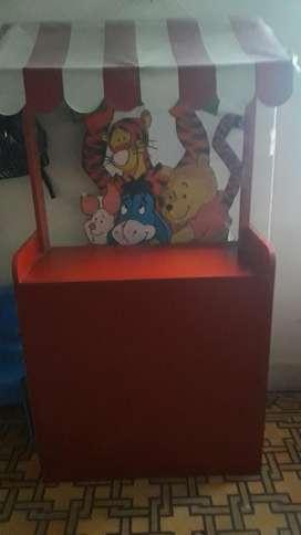 Vendo kiosco para fiestas infantiles