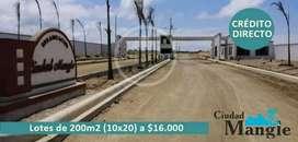 Últimos Terrenos Playeros con Crédito Directo, cerca de San Lorenzo SD4