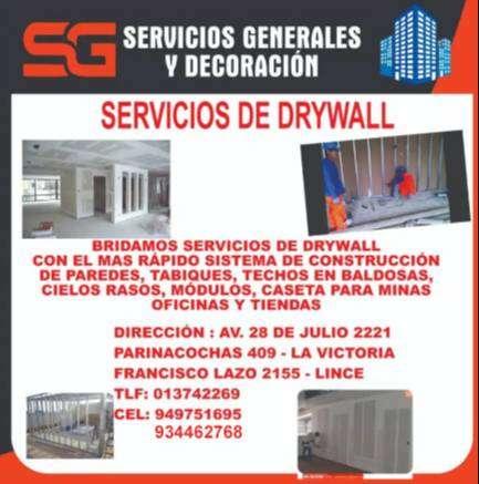 SERIVIOS EN DRYWALL 0