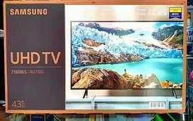 SAMSUNG 43 SMART TV 4K RU7100