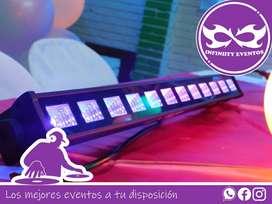 Alquiler de sonido chiquitecas viejotecas luces fiesta neón hora loca Dj y animadores protocolo servicio de mesero DJ