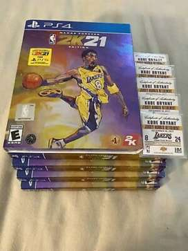 2k mamba edición  Playstation 4