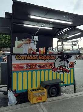 Vendo trailer comidas rapidas