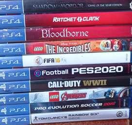 Juegos PS4 usados y nuevos