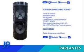 TORRE DE SONIDO BIG SOUND