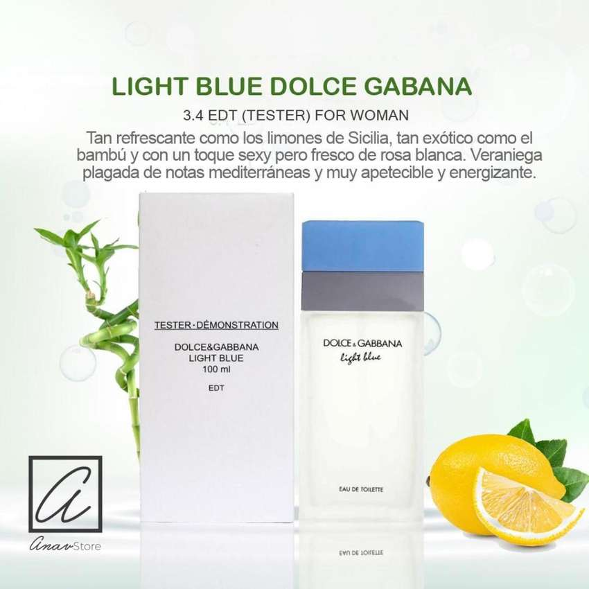 PERFUME LIGHT BLUE DOLCE GABBANA 100 ml para mujeres 0