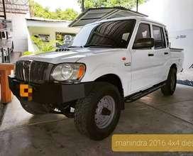 2016 Mahindra Pickup doble cabina 4x4 Diesel motor 2.2L