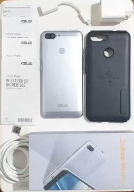 Celular Asus Zenfone Max Plus (M1) Doble camara trasera Pantalla Full HD Libre Caja Accesorios Imei Todo Original.